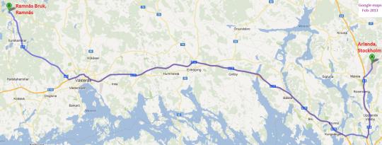 Skärmklipp Google karta